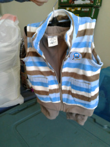 2 piece fleece baby outfit Brand New