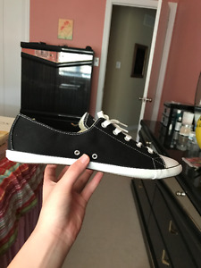 CONVERSE ALL-STAR Black Shoes