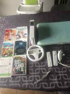 Console Wii + Wii fit + 6 jeux