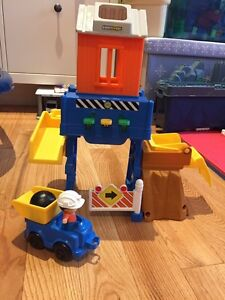 Chantier construction Little People Fisher-Price