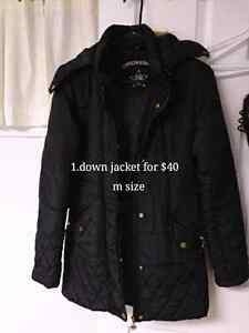 selling women winter coats and shirts from $7 to $40 Peterborough Peterborough Area image 1