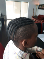 Tresse africaine, extensions, locks