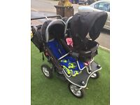 Triple buggy with cosy toes £220