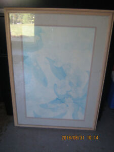 """Large Picture Frame 30"""" X 40"""" - Solid Wood Frame"""