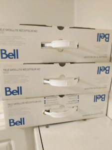 Used Bell Satellite Receiver 6131. In box great condition.
