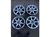 """17"" inch alloy wheels"