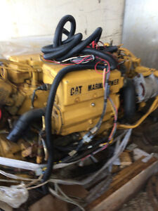 C9 Caterpillar marine engine with twin disk transmission