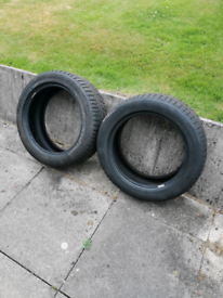 2 x 225 50 17 Continental ContiWinter Contact Tyres