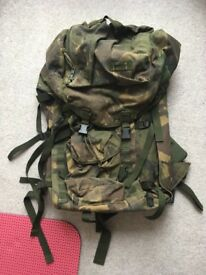 Bergen - Army backpack. Large capacity.