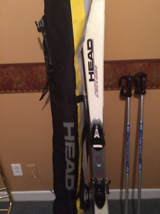 skis,boots,poll,cover $90.00 or best price