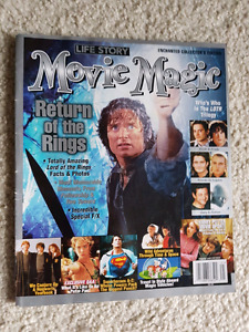 Lord of the rings collectable magazine