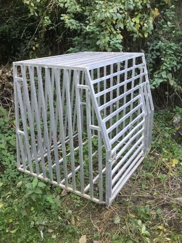 Large aluminium gun dog crate cage pig working dog birds