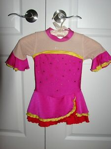 Size 5-6 Figure skating Dress
