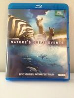 Nature's great events BBC Blu-ray disc 2 disc set