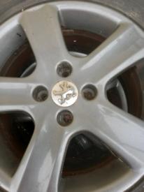 Citron van wheels