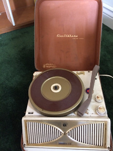 vintage portable stereo