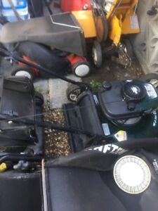FREE PICK UP OF UNWANTED MOWERS