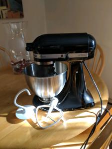 4.5qt KitchenAid Mixer - Black