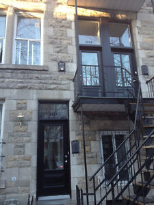 Furnished 4 bedroom apartment in the Plateau