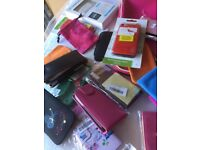 Box of Phone Cases, iPad covers - mostly new