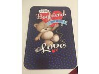 Boyfriend birthday card *new*