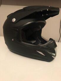 Pit bike helmet