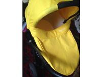 Baby oyster carry cot