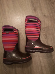 Bottes d'hiver buggs fille