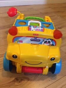 Fisher Price Pull Along Bus