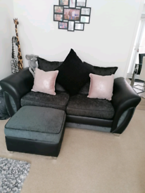 2 seater couch and chair
