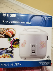 Tiger Rice Cooker (8 cups) w/ box