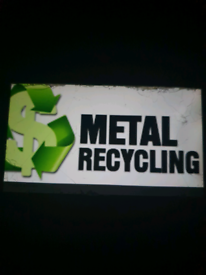 WANTED SCRAP METAL/FREE COLLECTION BEST PRICES IN LONDON