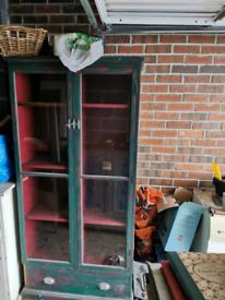 Glass door display cupboard / cabinet