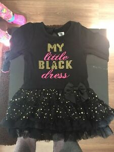 Toddler little black dress