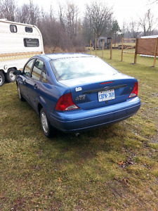 DISTRESS SALE-4 CYL-2002 Ford Focus Sedan  obo E-TESTED