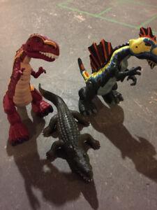 Roaring Dinosaurs & Alligator Toys