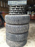 "Winter tires 15 inch 15"" 195/65 r15 Goodyear Nordic"