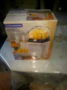 Air popcorn machine, double fry pan and rice cooker  $25each