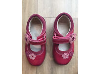 Clarks First Shoes Red 5.5 F