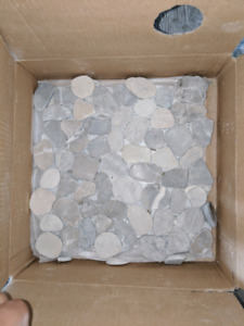 Brand new Premium Pebble/Rock Tiles
