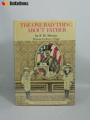The One Bad Thing About Father F. N Monjo 1st/1st Review Copy DJ 1970 I Can Read