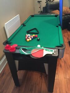 3 in 1 multi game table  for kids