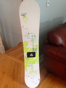 Used Women's snowboard for sale (Firefly, 142)