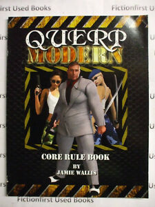 """Roleplaying Manual: """"QUERP: Modern, Core Rule Book"""""""