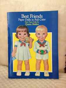 Best Friend Paper Dolls/CutOuts circa 1960 London Ontario image 1