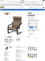 Brand new condition IKEA poang chair