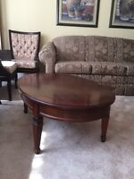 Oval coffee table. GUC