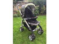 Silver Cross 3D travel system buggy