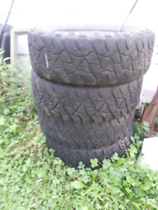 18 inch tires x 4