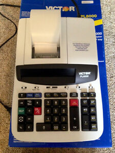 CALCULATOR PROMPT LOGIC 8000, ALPHANUMERIC THERMAL PRINTING St. John's Newfoundland image 1